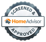 Home Advisor Logo Screened and Approved