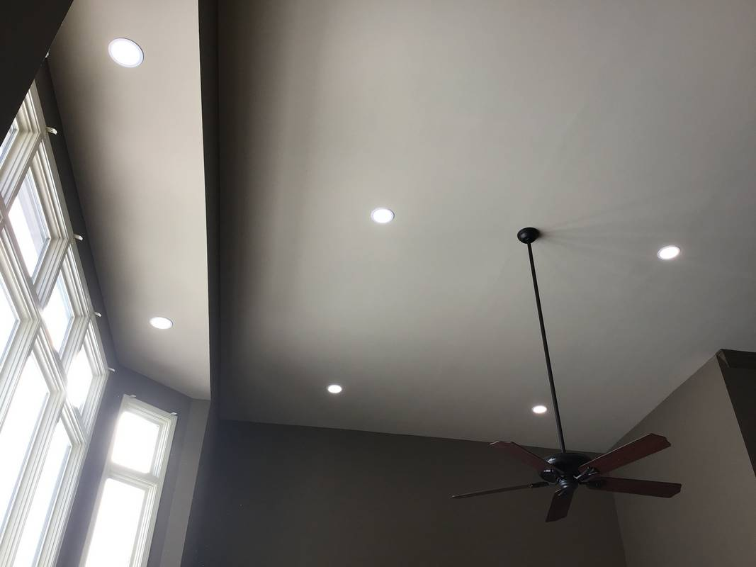 Lighting and Ceiling Fan Installations - Residential Electrician